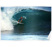 Kelly Slater at Pipeline Masters Poster
