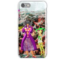 A Mixed Interstellar Family on the Planet of Ykulian Faces Global Warming iPhone Case/Skin