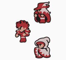 Final Fantasy Original Characters SET1 One Piece - Short Sleeve