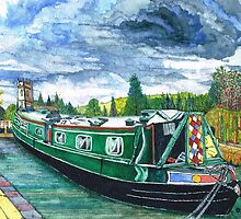 Jon Allen's Narrow Boat by doatley
