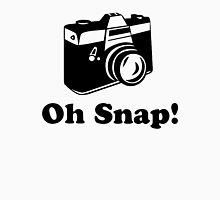 Oh Snap!- Black Unisex T-Shirt