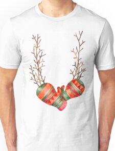 Watercolor Gloves  Unisex T-Shirt
