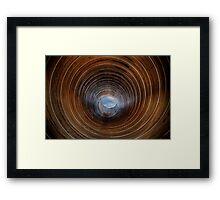 Sky Pipe Framed Print