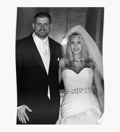 Ryan and Crissy McClintock Wedding II Poster
