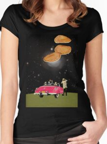 Unidentified flying object Women's Fitted Scoop T-Shirt