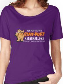 Stay Puft Branding (Pumpkin Flavor) Women's Relaxed Fit T-Shirt