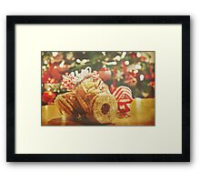 A Little Christmas Gift Framed Print