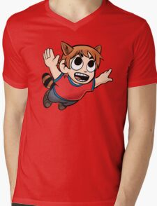 Tanuki Scott Mens V-Neck T-Shirt