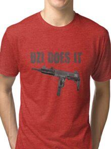 uzi does it Tri-blend T-Shirt