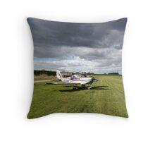 Aircraft stripping Throw Pillow