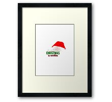 ALL I WANT FOR XMAS - COCKLES Framed Print