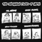 Snowman Faces Of Meth by DrewSomervell