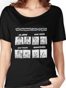 Snowman Faces Of Meth Women's Relaxed Fit T-Shirt