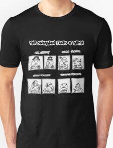 Snowman Faces Of Meth T-Shirt