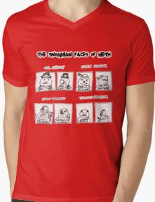 Snowman Faces Of Meth T-Shirt