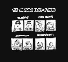 Snowman Faces Of Meth Unisex T-Shirt