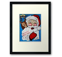 CHRISTMAS CARDS Framed Print