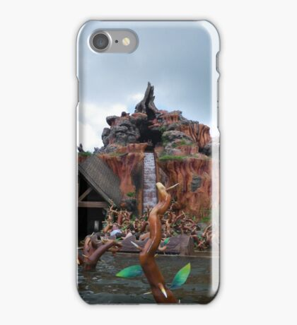 Splash Mountain iPhone Case/Skin