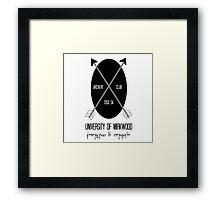 University of Mirkwood Framed Print