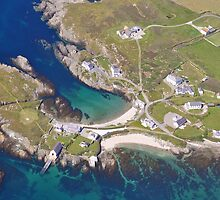 An Aerial view of Anglesey by JMaxFly
