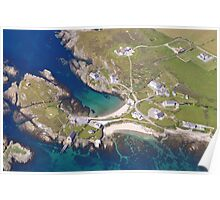 Rugged Boathouse Anglesey Poster