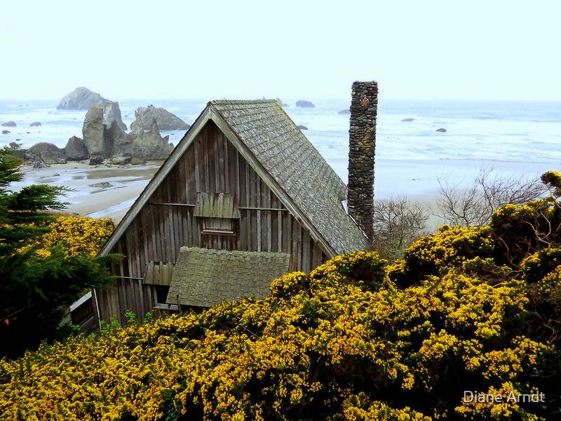 The Chimney...Bandon, Oregon by trueblvr