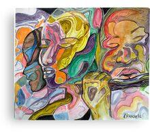 music charmer - the flutist Canvas Print