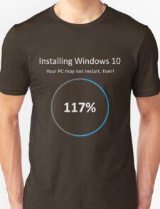 Geek Windows 10 Installing T-Shirt