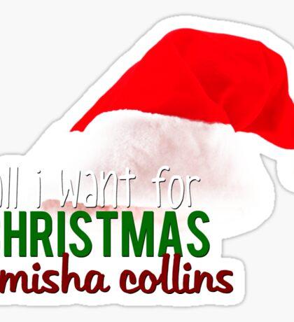 ALL I WANT FOR XMAS - MISHA Sticker