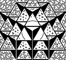 META PHI 33 BY VII23 - DEC 2012 - OFFICIAL MERCH Sticker