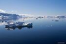 Reflecting on Antarctica 044 by Karl David Hill
