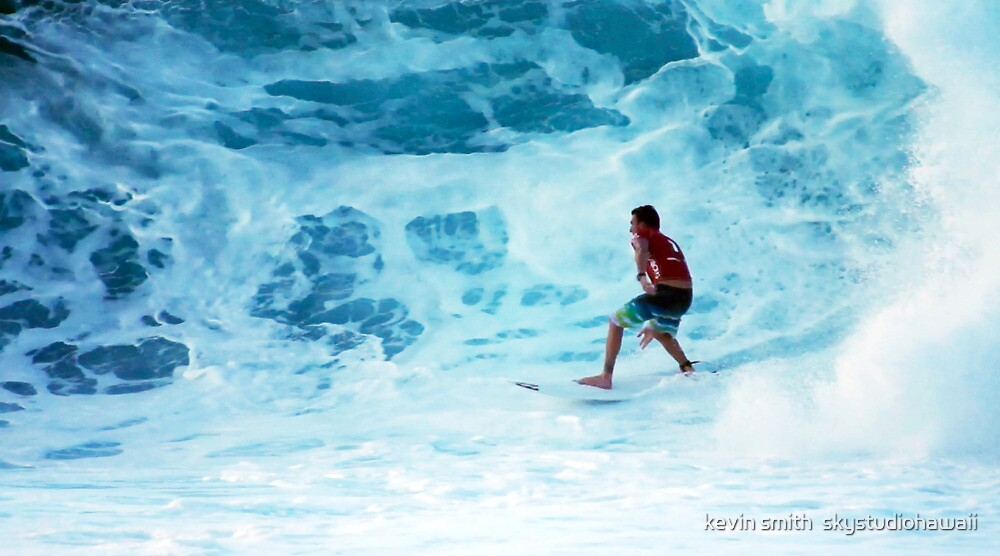 Parkinson at Pipeline by kevin smith  skystudiohawaii