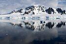 Reflecting on Antarctica 049 by Karl David Hill