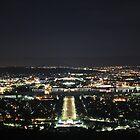 Canberra by Night by NinaJoan