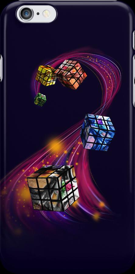 Rubik's Cubism by violinsane