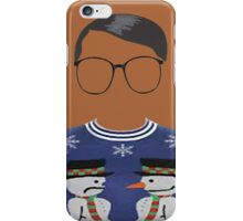 Hipster Blue Ugly Sweater iPhone Case/Skin