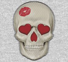 Skull - Kissy Lips with Pattern v3 by cpotter