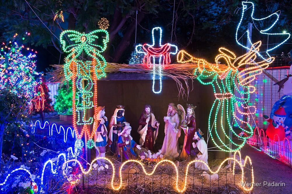 Christmas Lights 1 by Werner Padarin