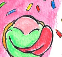 'Strawberry Dough'- Squishy & The Donut Sticker
