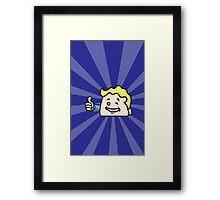 Fallout 4 Winky CatBag Boy Framed Print