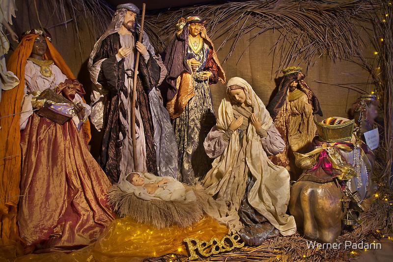 Christmas Lights 3 by Werner Padarin