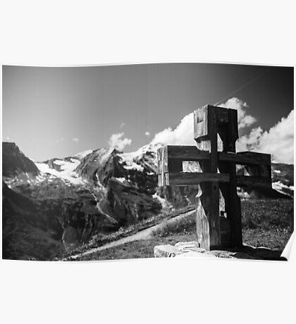 Alp Austria - Mountain - Kreuz Poster