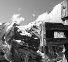 Alp Austria - Mountain - Kreuz Sticker