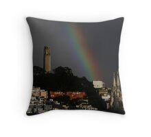 Show Me the Colors Throw Pillow