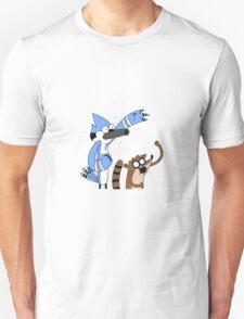 Woooooo! Mordecai & Rigby from the Regular Show T-Shirt