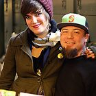 Happy couple Pike Place Market by JJConnors