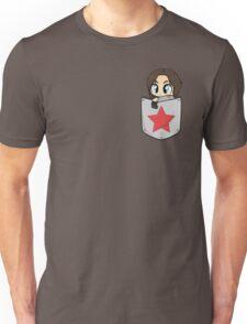 Pocket!Bucky Unisex T-Shirt