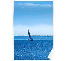 November Sail Poster