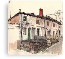 Guardo's house Canvas Print