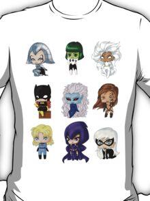 Chibi Heroines T-Shirt